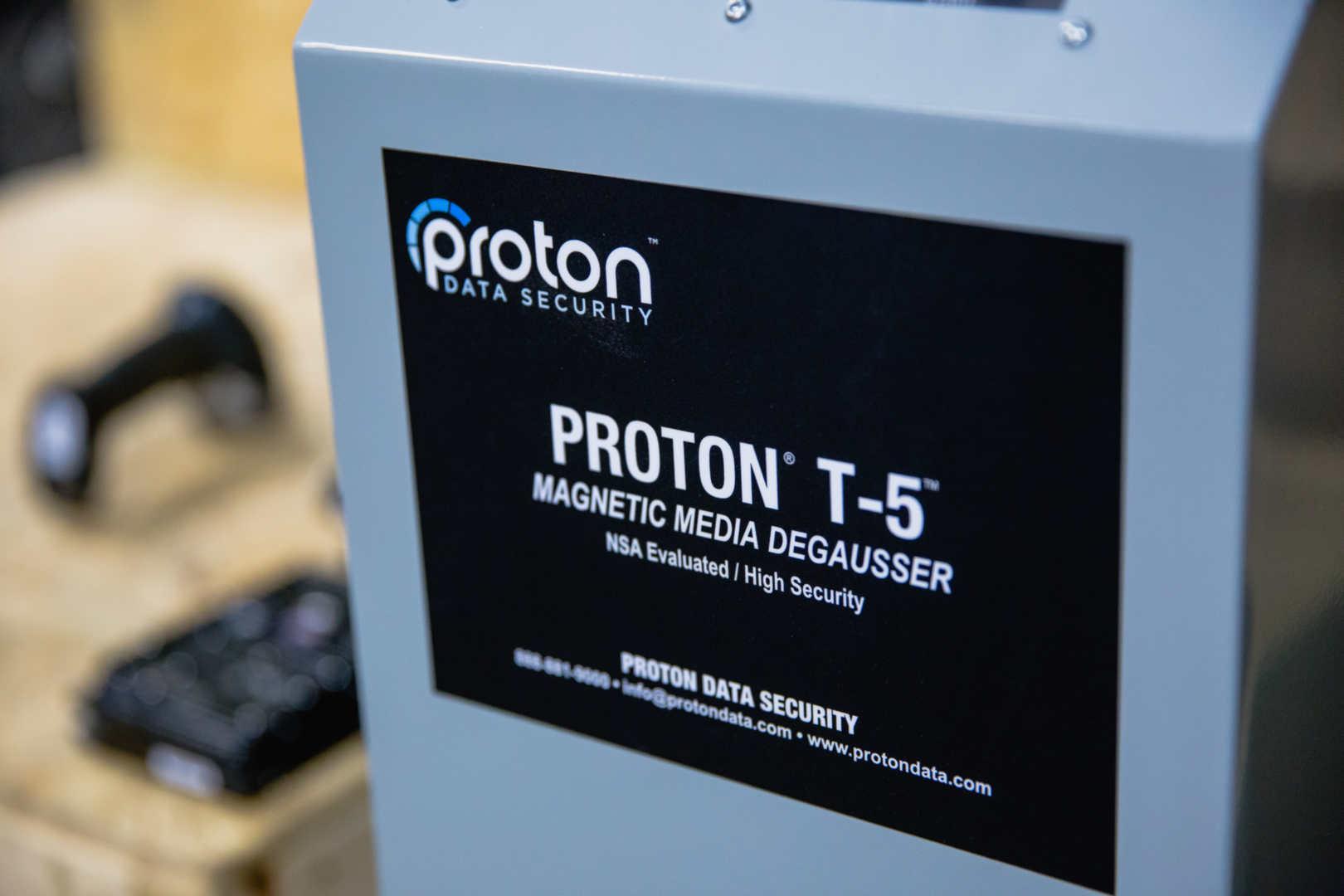 proton t5 media degausser