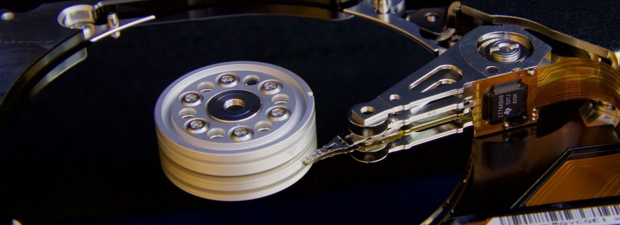 Hard drive a St. Louis data destruction company could wipe