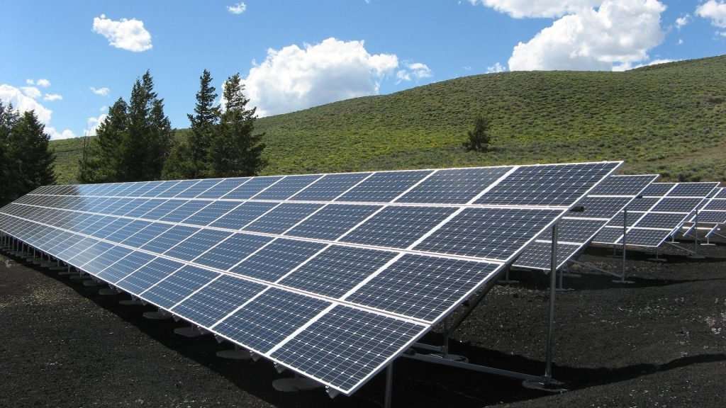 Solar panels that will one day need to be recycled